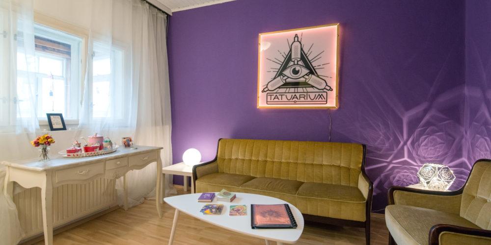 Besprechung raum ins Tatuarium Tattoo Studio Wien
