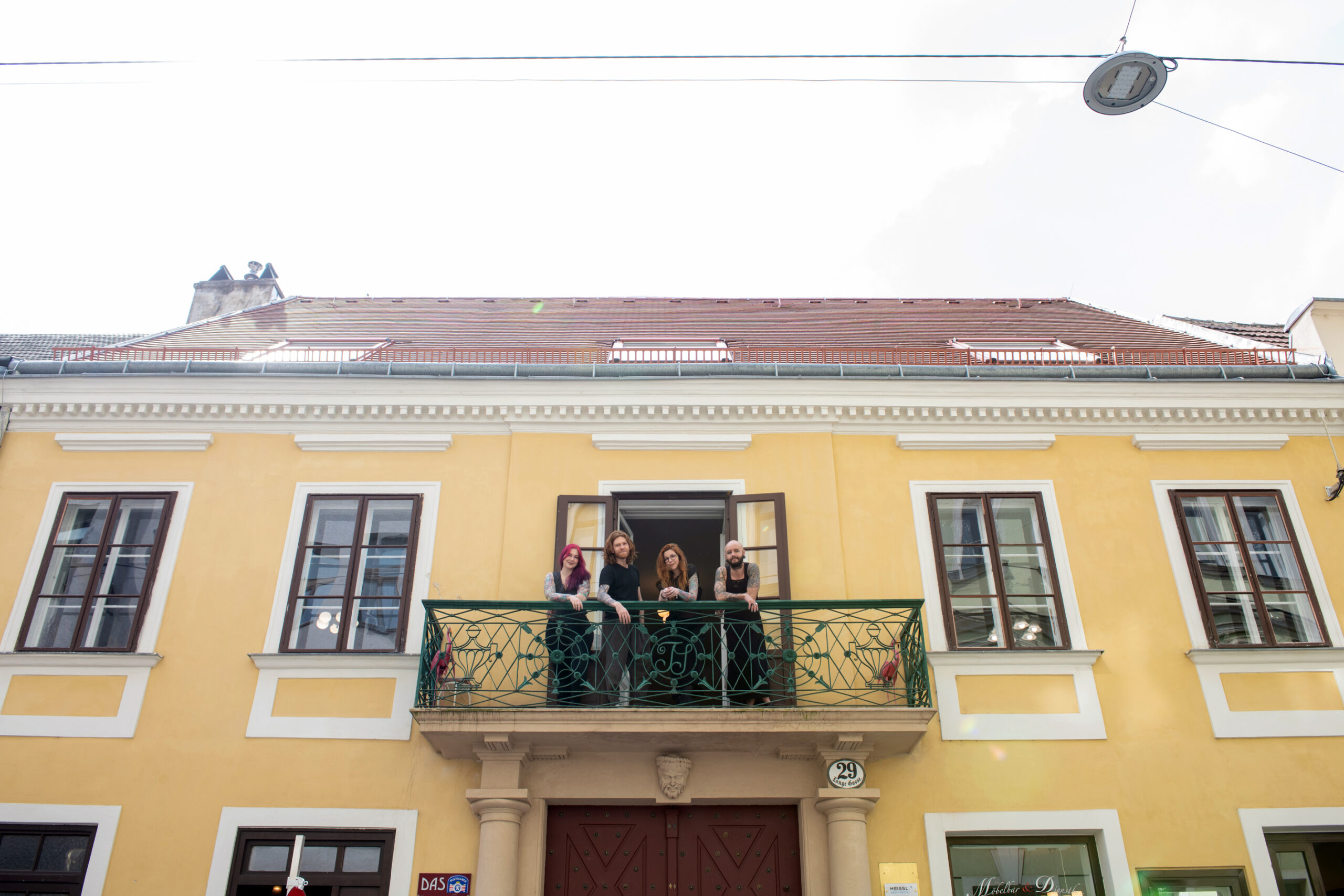 Street view of Tatuarium Tattoo Studio in Wien