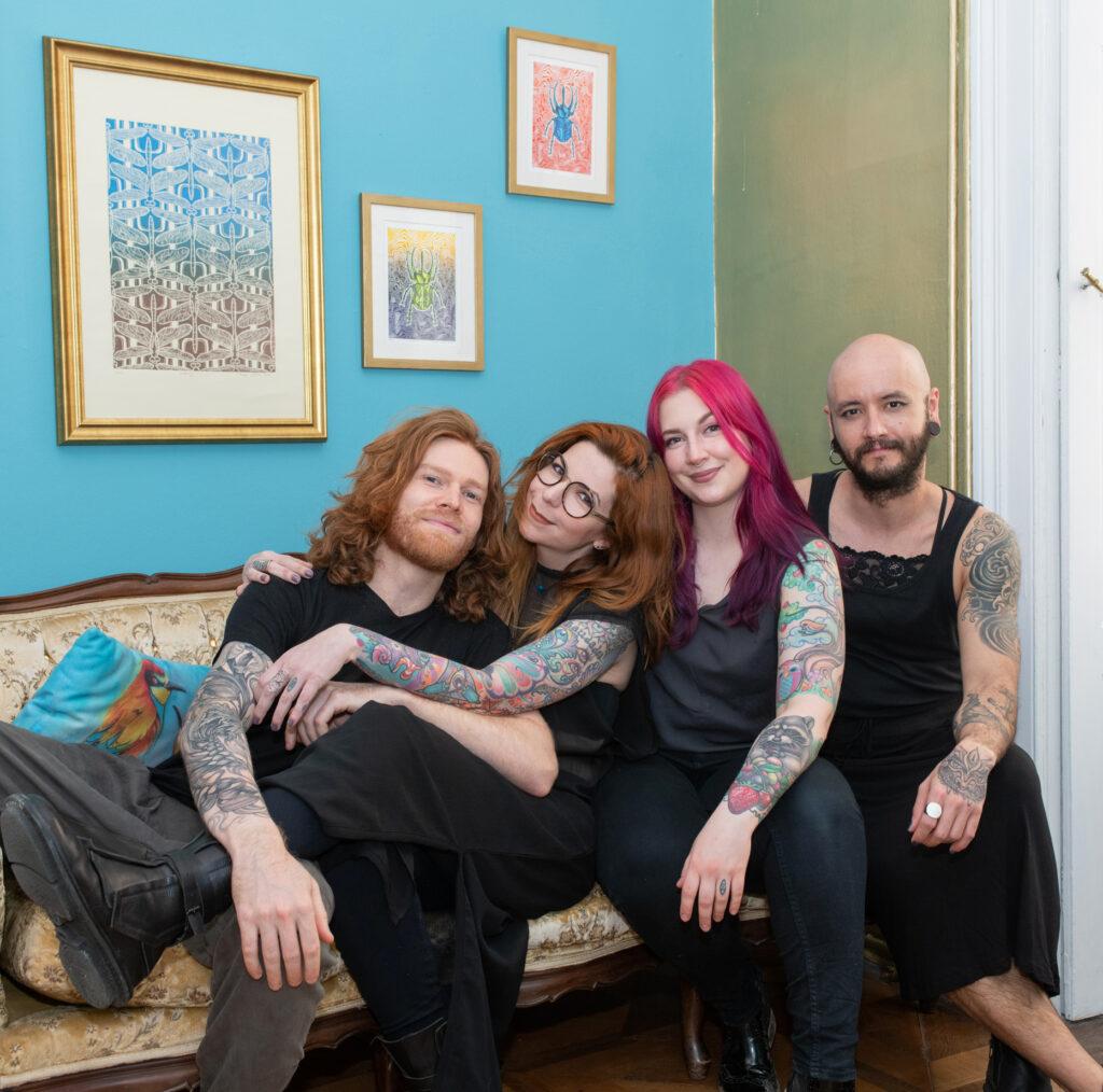 Tattoo artists at Tatuarium Tattoo Studio Wien